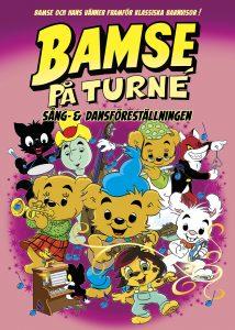 Bamse på turné – Sång- & Dansföreställningen